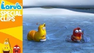 Video [Official] Winter - Fun Clips from Animation LARVA MP3, 3GP, MP4, WEBM, AVI, FLV Juli 2018