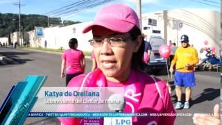Caminata contra el cáncer de mama