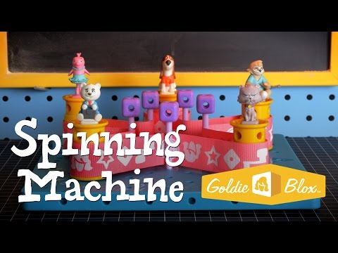Youtube Video for Goldie Blox & the Spinning Machine