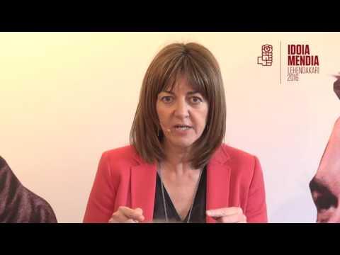Encuentro de Idoia Mendia con jóvenes en Bilbao [2016.05.07]
