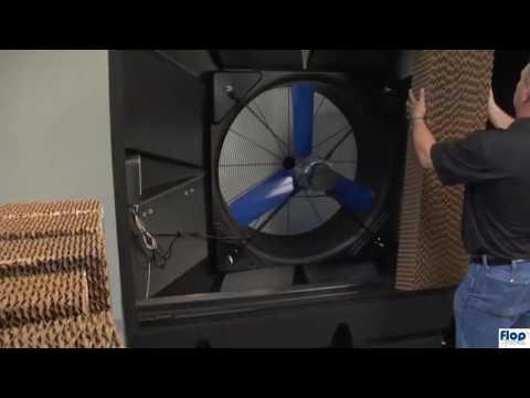 Schładzacz powietrza ewaporacyjny - klimatyzer BryzaCOOL-Wymiana wkładów