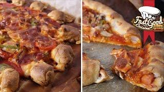 Video Recette de Pizza : CheesyCrust Fun VS HotDogCrust MP3, 3GP, MP4, WEBM, AVI, FLV Agustus 2017