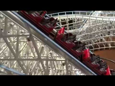 Working Wooden Rollercoaster Model