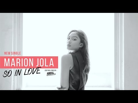 Video Marion Jola - So In Love (Lyric Video) download in MP3, 3GP, MP4, WEBM, AVI, FLV January 2017