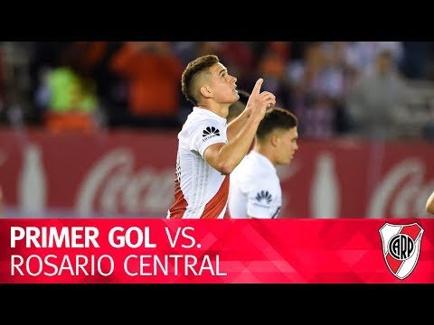 Gol de Rafael Santos Borré vs. Rosario Central