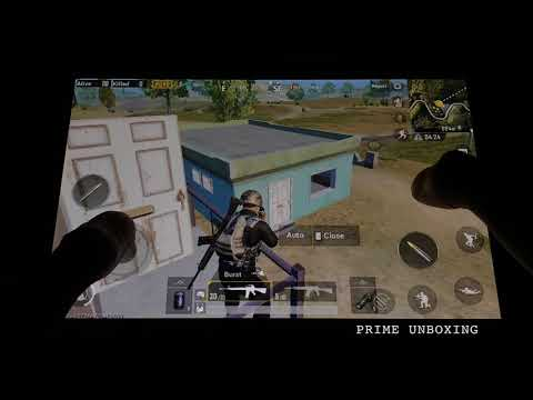 PUBG GAMEPLAY On AMAZON FIRE HD 8 Tablet!!!