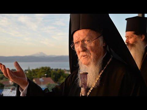 Θλίψη Βαρθολομαίου για τις πυρκαγιές σε Ελλάδα και Τουρκία…