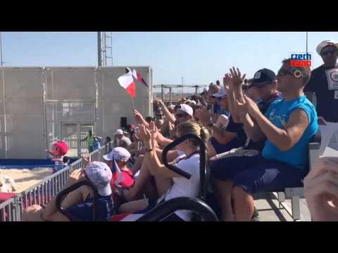Čeští sportovci na plážovém volejbale