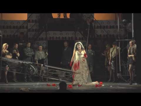 "Ария Лючии «Il dolce suono», опера ""Лючия ди Ламмермур""."