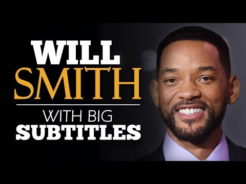 LEARN ENGLISH   WILL SMITH: How to Face Fear (English Subtitles)