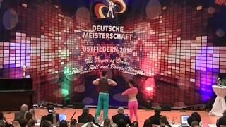 Anna-Lena Rekofsky & Kevin Geyer - Deutsche Meisterschaft 2014