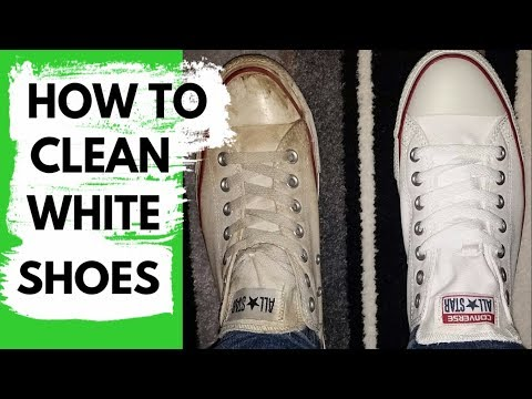 How to Clean and Whiten Sneakers - Method that Works