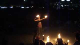 Sanjo Japan  city pictures gallery : Fire - Dance , Sanjo , Japan