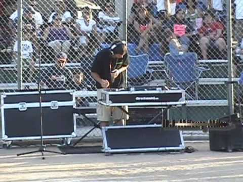 Gig Log with DJ Mikey Mike of a Softball Opening Day Sound System with 13' Tripods