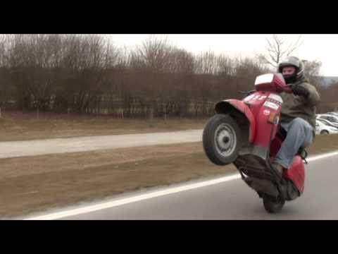 vespa t5 racing - performance test