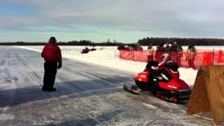 7. NSSR top speed 1000 feet Junior Pro Stock polaris xcf 440