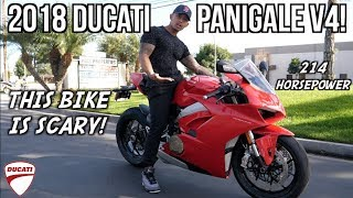 5. 2018 DUCATI Panigale V4! | First time riding!