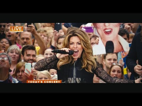 Shania Twain - Man! I Feel Like A Woman (Live on TODAY)