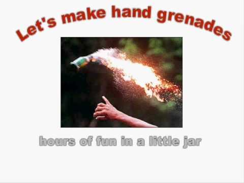 Tekst piosenki The Offspring - Hand Grenades po polsku