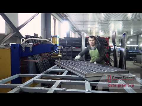 стальные двери на производство
