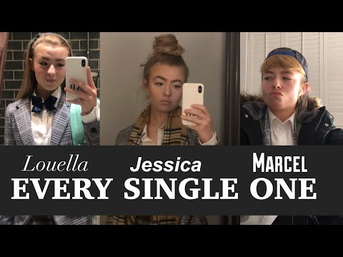 EVERY SINGLE JESSICA/LOUELLA/MARCEL VIDEO || chav, posh girl, roadman British TikTok compilation