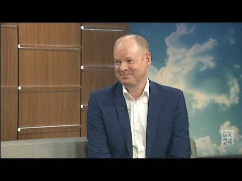 Hard Quiz host Tom Gleeson on ABC News Breakfast