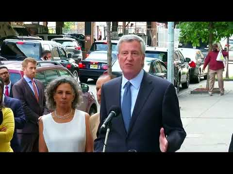 NYC mayor says shocked to find city hosting immigrant children