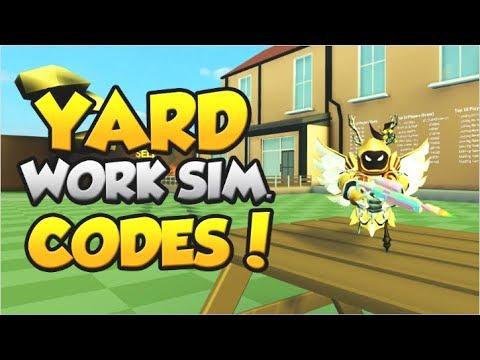 ALL *EXCLUSIVE* CODES!  | Yard Work Simulator