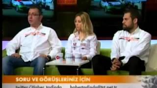 Burcu Burkut Erenkul - TRT Haber - Haber Tadında Canlı Yayın - 2013