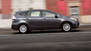 2012 Toyota Prius V Full Test Video - Inside Line