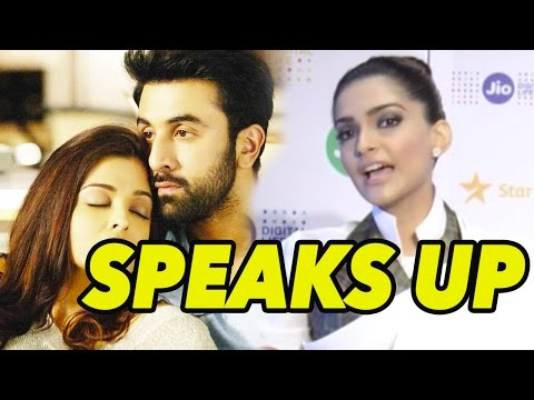 Sonam Kapoor Speaks Up On Ae Dil Hai Mushkil Contr