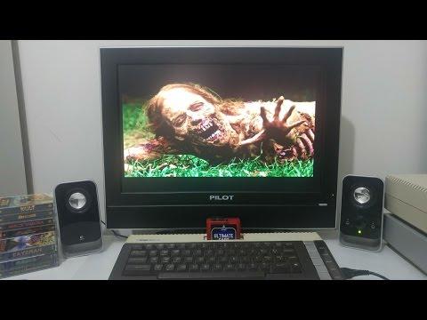 Demo of the VBXE Graphic enhancment board for the Atari 8bit computer