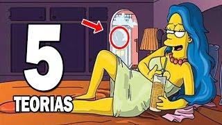 5 Teorias de Los Simpsons más Extrañas de la Historia