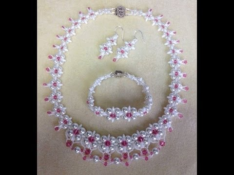 (Tutorial) Dream Wedding Necklace Set PART 1 (Video 58)