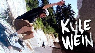 Kyle Wein on the Landyachtz Tomahawk Longboard Complete - 2014