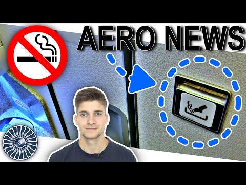 Warum gibt es in jedem Flugzeug einen Aschenbecher?
