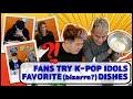 Pop Idols Favorite (bizarre?) Dishes With Soju!