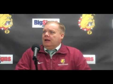 Bob Daniels Post Game Press Conference 1/15/11 (Michigan)