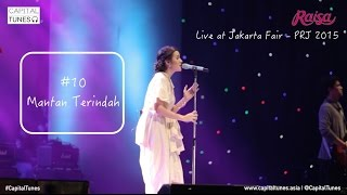 RAISA - Mantan Terindah / Live at PRJ 2015 / Capital Tunes 62
