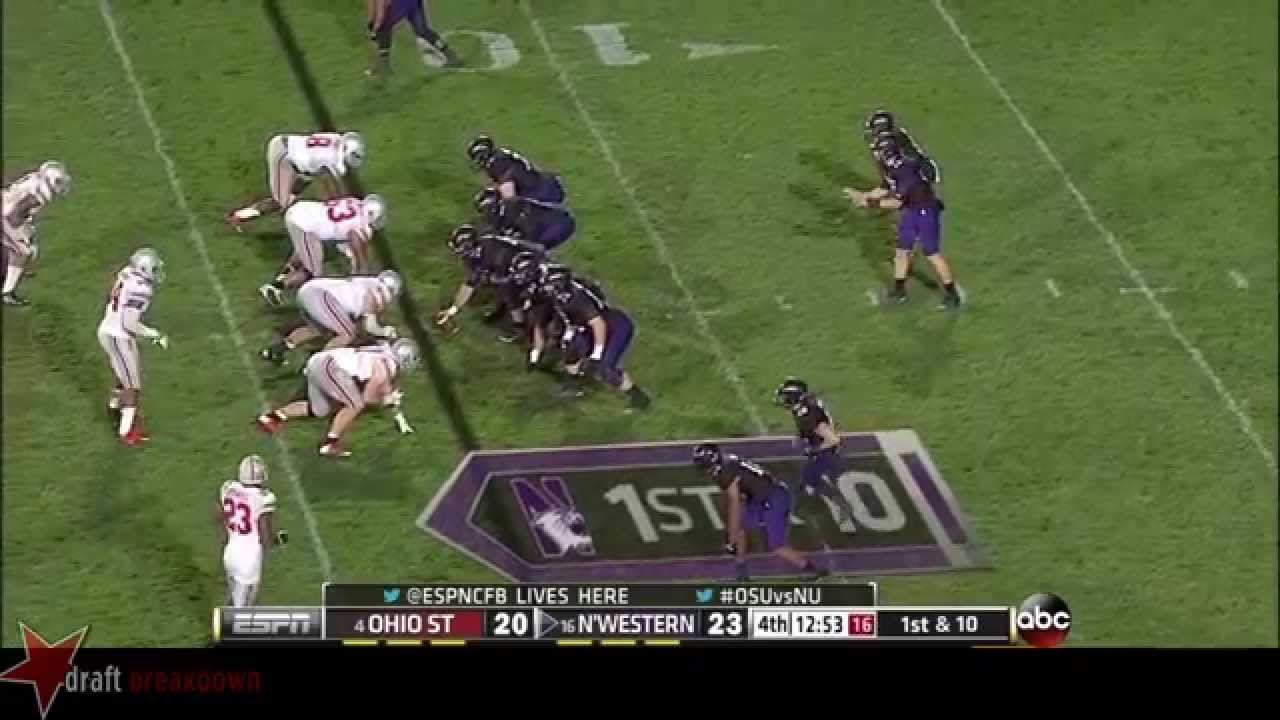 Michael Bennett vs Northwestern (2013)