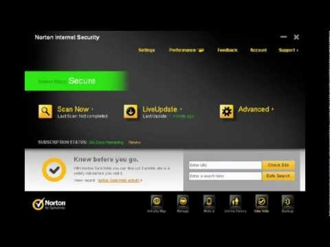 how to patch norton internet security 2012