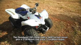 1. MXTV Mini Dirt Bikes - Suzuki Quadsport Z50 Xmas Review