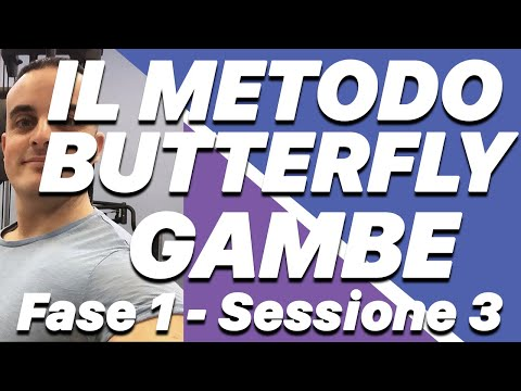 il Metodo Butterfly: fase 1 sessione 3