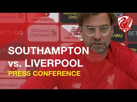 Southampton Vs. Liverpool | Jurgen Klopp Press Conference