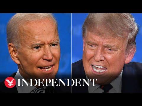 Watch live: Donald Trump and Joe Biden go head-to-head in the final presidential debate