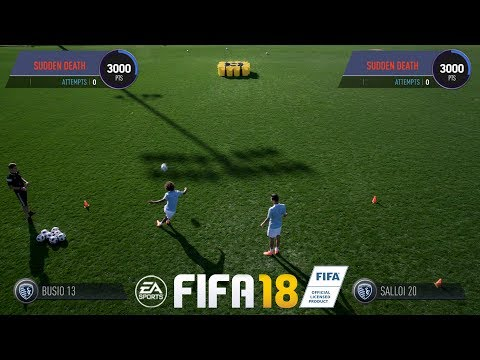 EA FIFA Real-Life Skill Games | Daniel Salloi Vs Gianluca Busio