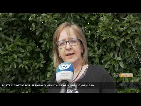 PARTE IL 5 OTTOBRE IL SERVIZIO DI MENSA ALLE PRIMARIE   27/09/2020