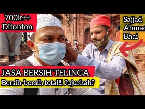 """COBA JASA BERSIH TELINGA INDIA: KENA """"TRIKnya"""" & NEGO KETAT Feat Sajjad Ahmad Bhai 😀👂🏼✨"""