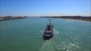 Port Huron (MI) United States  city photos gallery : USCG Mobile Bay - Downbound Port Huron, Michigan 3-29-2016