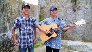 Makin Kompak!! Sahrul Setiawan, Pengamen Anak dan Ayah saat Menyanyikan Lagu Iwan Fals, Mantap!